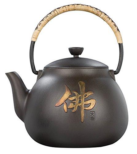 Taku Buddha Cast Iron Teapot 1.8 Qt