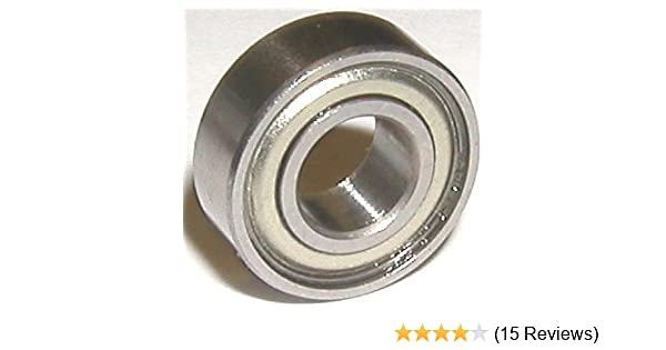 6202-2Z Radial Ball Bearing Double Shielded Bore Dia 15mm OD 35mm Width 11mm