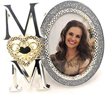 """Mother Of Pearl Distressed Silver Angel Wing Square Photo Frame 4/""""x6/"""""""