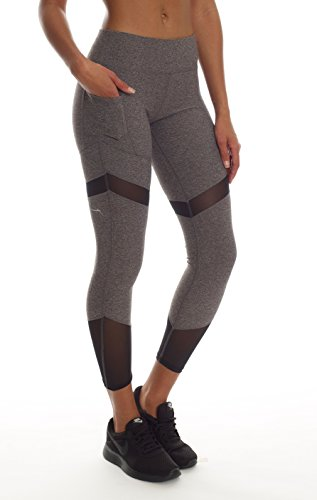 Womens High Waist Dry Fit Yoga Sports Activewear Full Length Legging with Pocket