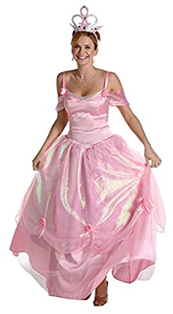54272bb1a2be Amazon.com: BOS Adult Pink Princess Costume Size: Women's Standard 6 ...