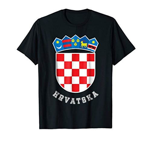 - Croatian Flag Soccer Jersey Hrvatska Shirt Croatia Football