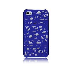iPhone 4 / 4s casco nido de pájaro azul oscuro
