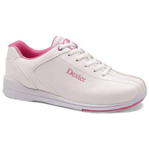 Dexter Women's Raquel IV Bowling Shoes, White/Pink, 8