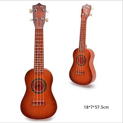 UabpT Instrumento acústico Instrumento del Ukulele de Las Cuerdas ...