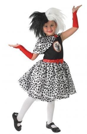[Cruella De Ville Costume - Kids - Large] (Kids Cruella Deville Costumes)