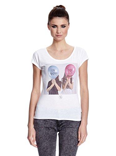 Boom Bap T-Shirt HAPPY white-L