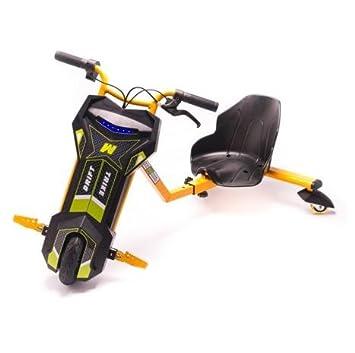 Kart Drift trike eléctrico 15 km/h 250 W naranja: Amazon.es: Deportes y aire libre