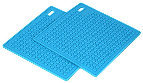 Set of 2 Multipurpose 5 in 1 Silicone Kitchen Tool - Trivet