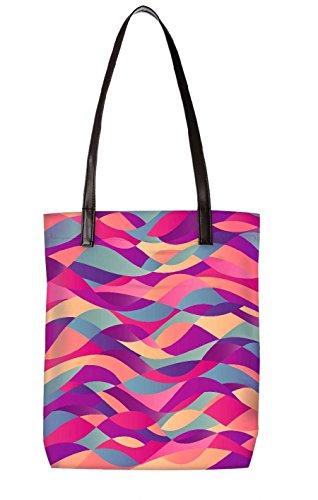 Borsa Da Spiaggia Snoogg, Multicolore (multicolore) - Ltr-bl-4809-totebag