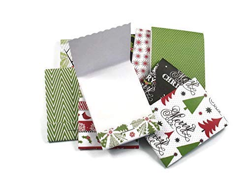 30 Matchbook Notepads Shower Favors in Very Merry Christmas