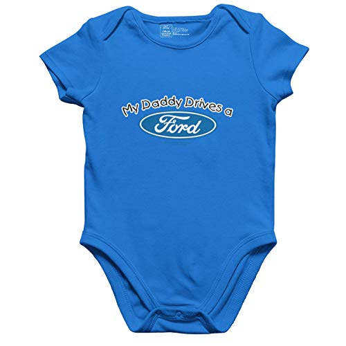 Officiële licentie My Daddy Drives a Ford romper/babybody