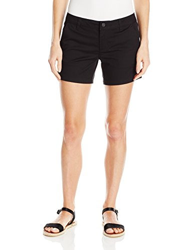 "Price comparison product image Volcom Junior's Junior's Frochickie Slim Fit Chino Short 5"",  Black,  3"