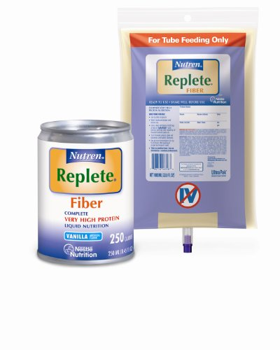 Nestle Clinical Nutrition Nutren Replete with Fiber Nutritional Supplement, Ncl26359, 1 Pound