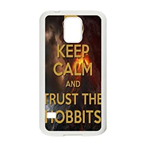 SamSung Galaxy S5 I9600 2D PersonThe Hobbitzed Phone Back Case with The Hobbit Image