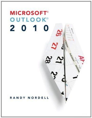 Microsoft Outlook 2010 Pdf