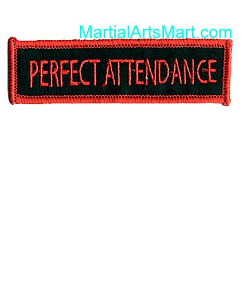 Tiger Claw Patch-Perfect Attendance