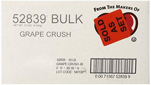 - Jelly Belly Soda Pop Shoppe Grape Crush Jelly Beans, 10-Pound Box