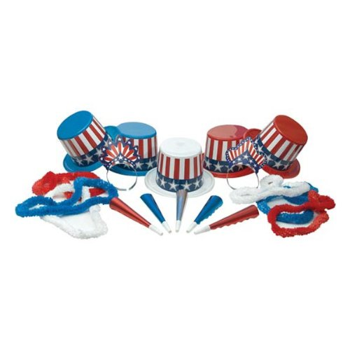Spirit Of America Asst for 50 Party Accessory (1 count)