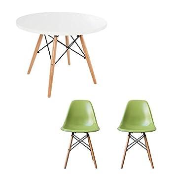 Weier Tisch Mit Sthlen. Gallery Of Esstisch Set Tlg ...
