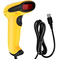 DinoFire Wired 1D Barcode Scanner for Store, Supermarket, Warehouse