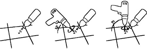 Forets diamant/és pour gr/ès c/érame verre id/éal pour tout percer gr/ès c/érame /également de la classe 5 de force