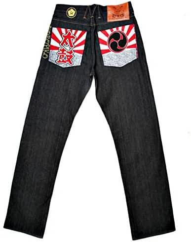 Yoropiko Taiko Flag denim jeans YORO0663