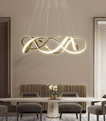 Citra Gold Plated Led Pendant Light Chandelier Dining Room Kitchen New Lighting Lamp Cord Pendant Lamp M5129 Warm Buy Online In India At Desertcart In Productid 177888593