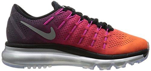 Nike Air Max 2016 Scarpe Da Donna Da Donna Premium Taglia Us 7.5, Larghezza Regolare, Colore Rosa / Arancio / Viola