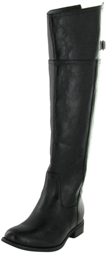 Breckelles Womens Rider-82 Riding Boot Black 7.5
