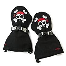 Veyo Kids - Skully Mittyz - Waterproof Kids Mittens | Toddler Gloves | Easy on, Stay on, | Perfect for Snow Skiing, Sledding, and Winter Play
