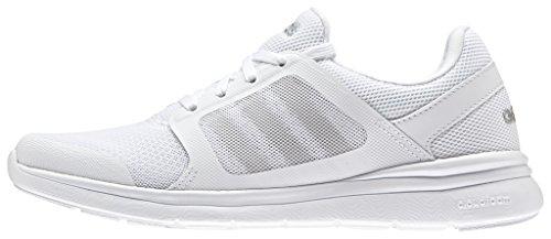 adidas Cloudfoam Xpression W, Zapatillas de Deporte Interior para Mujer Blanco (White)