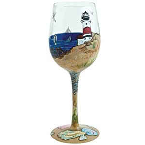 Lolita from Enesco Wine Glass, Coastal