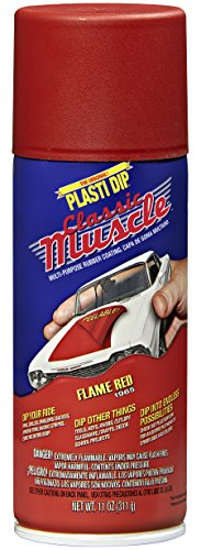 PERFORMIX 11311 Flame Red Classic Muscle Car Rubber Coating, 11 oz
