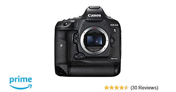 Amazon com : Canon EOS-1DX Mark II DSLR Camera (Body Only) : Camera