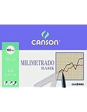 Canson 402861 - Bloc para dibujo, 50 hojas