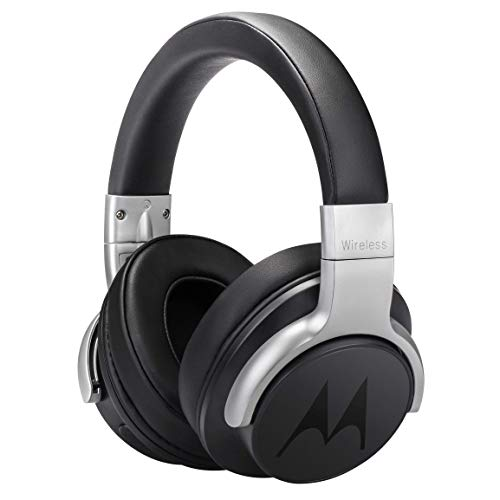 Motorola Escape 500 Wireless Active Noise Cancelling Headphones – Bluetooth Cordless Headset with Mic, ANC – HD Sound Quality, 12-Hour Battery Life, IPX4-Rated Waterproof, Works with Voice Assistants