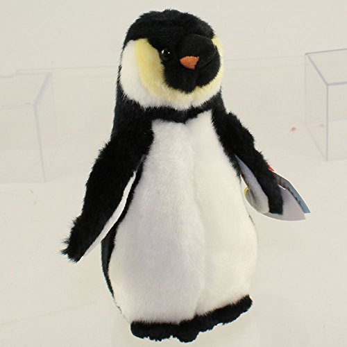 TY Beanie Baby - ADMIRAL the Penguin (Santa Barbara Zoo Tag Version) MWMTs