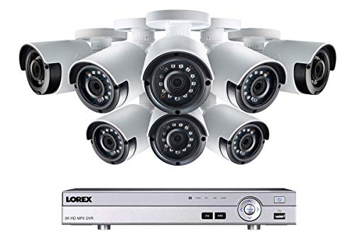 Lorex Weatherproof Indoor/Outdoor Home Surveillance Security System