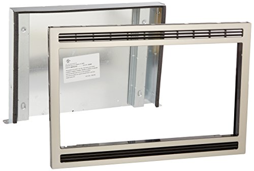 Frigidaire MWTK27KF, 27-Inch, Black/Stainless Microwave Trim Kit, (Best Countertop Microwave With Trim Kit)