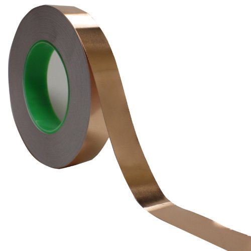 (1 inch x 55 yds Copper Foil Tape - (25mm x 50m) - EMI Shielding Conductive Adhesive)