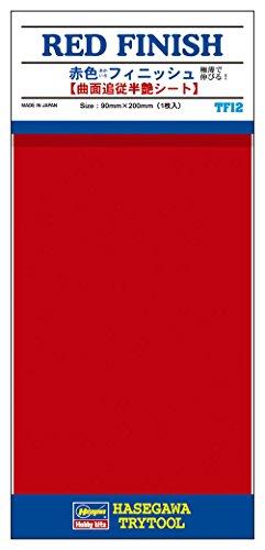 HASEGAWA 71812 Adhesive Detail & Marking Film Red