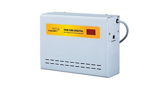 V Guard 500 Digital Stabilizer V GB  15A  Voltage Stabilizers