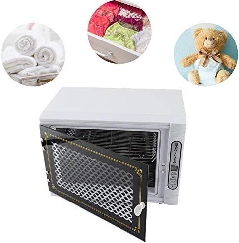タオル消毒キャビネット、衣類用スパおよびサロン機器用のプロフェッショナルステンレススチール加温殺菌UV滅菌器(White2)