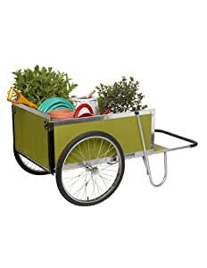 Gardener's Supply Garden Cart, Large, Green