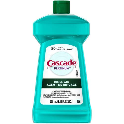 Cascade Platinum Rinse Aid (Pack of 18)