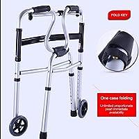 Andadores para personas mayores, Andador compacto y plegable, Con ...