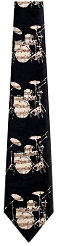 - Mens Drums Tie Neckties