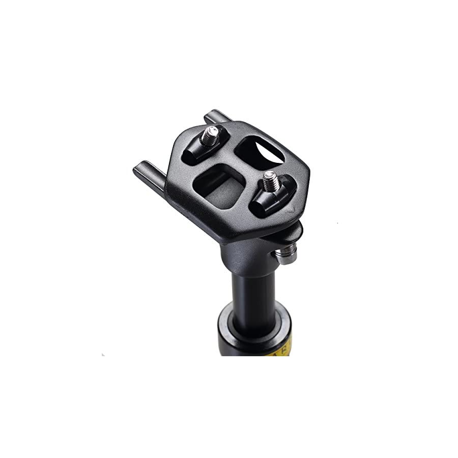 Corki Adjustable Bicycle Suspension Seatpost 27.2/31.6 350mm Double Rail Mounting Seat Post