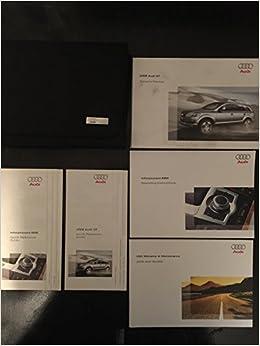 Audi q7 owners manual pdf.